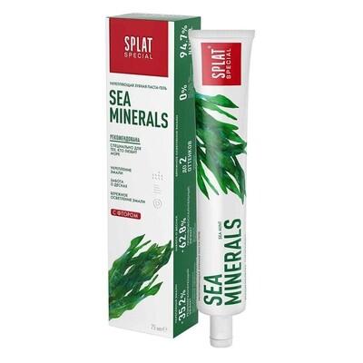Зубная паста SPLAT SEA MINERALS/Морские Минералы, 75 мл