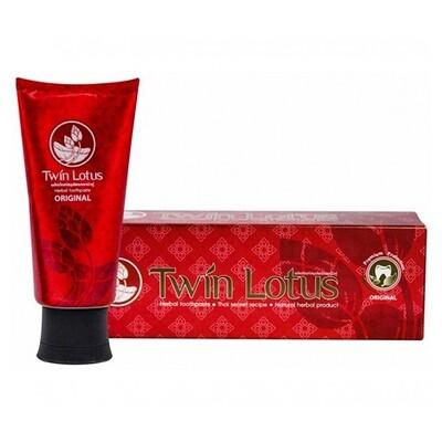 Зубная паста премиум TWIN LOTUS RED оригинальная с натуральными травами, 100 гр