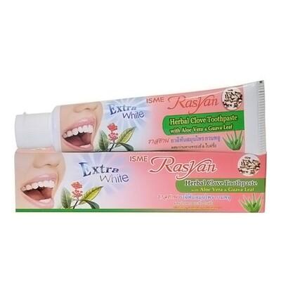 Зубная паста Rasyan/Райсан с гвоздикой, алое вера и листьями гуавы, 100 гр