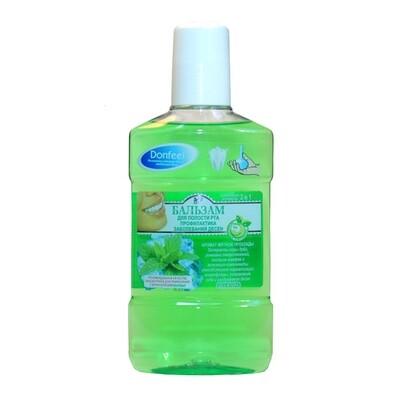 Жидкость для ирригатора Donfeel профилактика заболеваний десен, 250 мл
