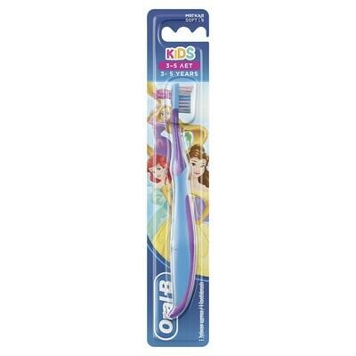 Зубная щетка ORAL-B Kids для детей (3-5 лет) Мягкая