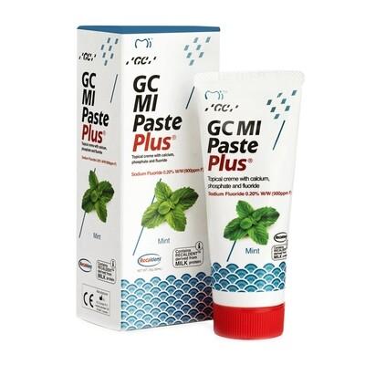 GC MI Paste Plus - крем c фтором, для реминерализации и снижения чувствительности Мята, 40 г