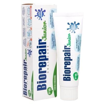 Детская зубная паста Biorepair Junior Mint, 75 мл (7-14 лет)