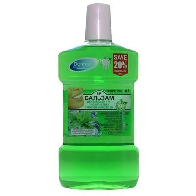 Жидкость для ирригатора Donfeel профилактика заболеваний десен, 500 мл.