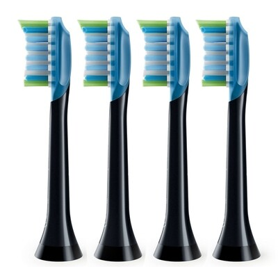 Насадки Philips AdaptiveClean/Premium Plaque Defence HX9044 Черные, 4 шт.