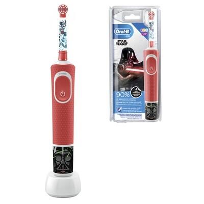 Электрическая зубная щетка Oral-b Vitality Kids Stages Power Star Wars (с 3х лет)