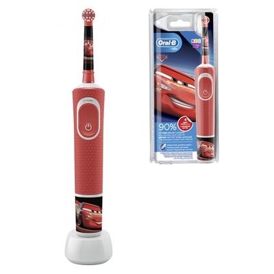 Электрическая зубная щетка Oral-b Vitality Kids Stages Power Тачки (с 3х лет)