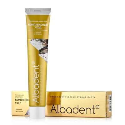 Зубная паста Альбадент Комплексный уход