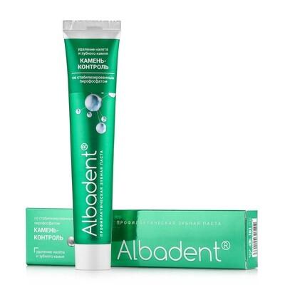 Зубная паста Альбадент Камень-контроль
