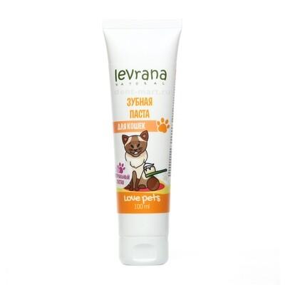 Зубная паста Levrana для кошек, 100 мл