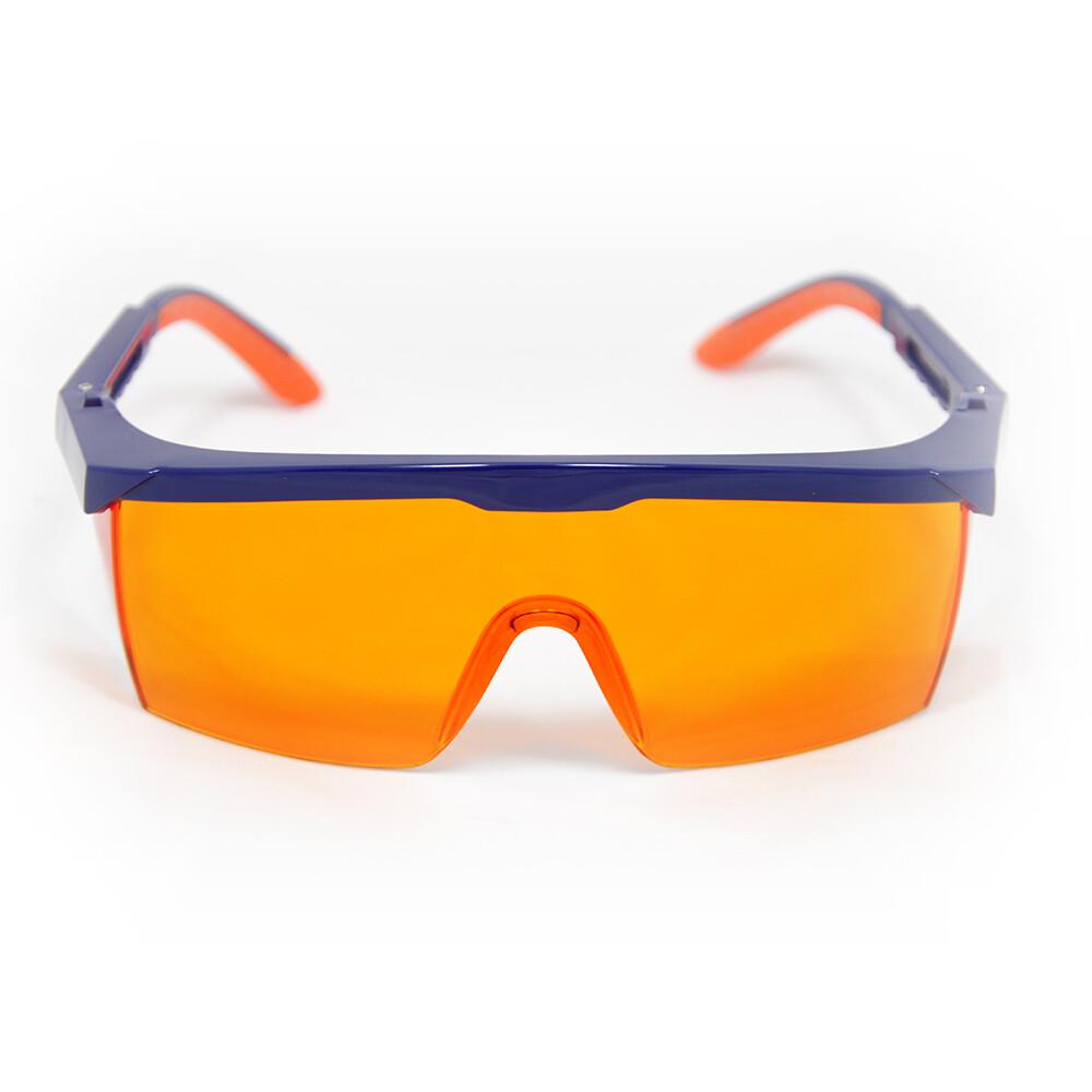 Очки защитные  Clean+Safe HB-S03AOR оранжевые