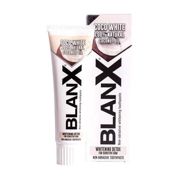 Отбеливающая зубная паста BlanX Coco White 75ml