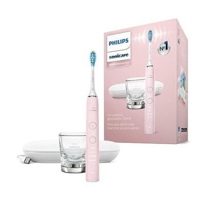 Электрическая зубная щетка Philips Sonicare DiamondClean HX9911/29 с поддержкой Bluetooth Розовая
