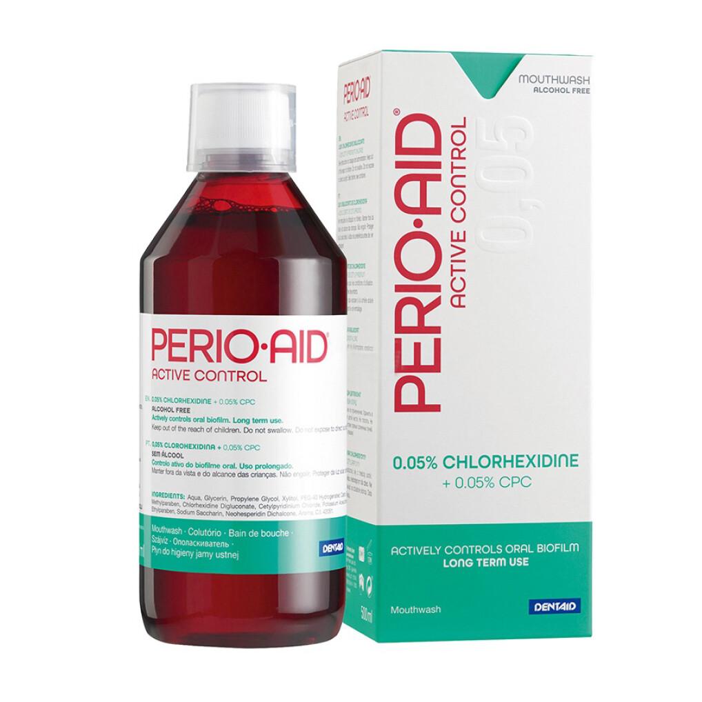 Ополаскиватель полости рта PERIO-AID® Active Control с хлоргексидином 0,05%