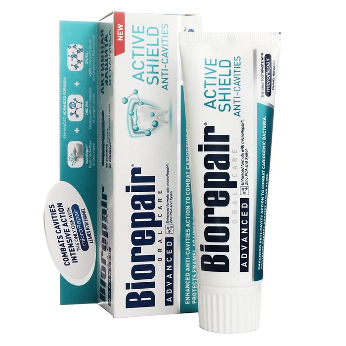 Зубная паста Biorepair Pro Scudo Attivo. Проактивная защита, 75 мл