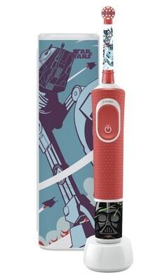 Электрическая зубная щетка Oral-B Vitality Kids Star Wars D100.413.2KX с футляром