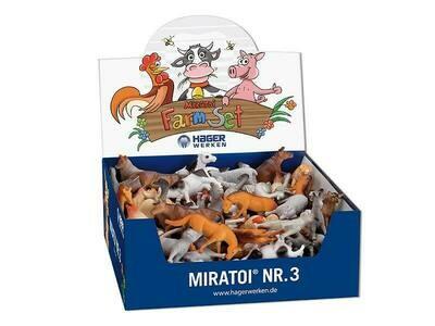 Мотивационный набор Miratoi №3 ферма,100 игрушек