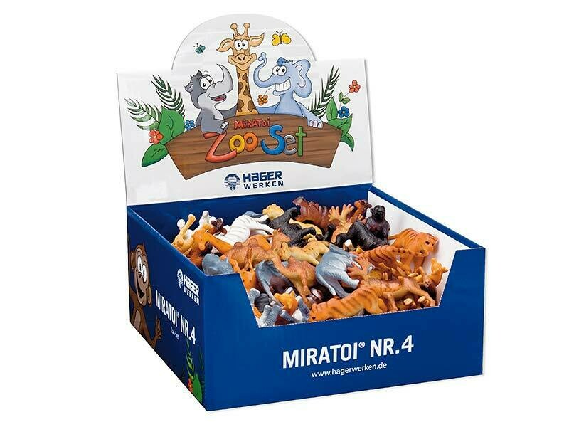 Мотивационный набор Miratoi №4 зоопарк, 100 игрушек