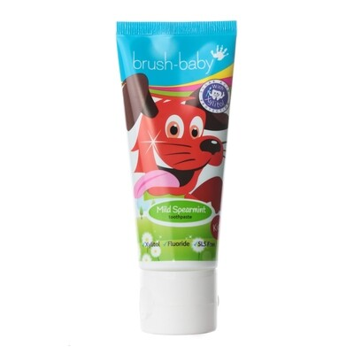 Зубная паста детская Мята Brush Baby, 50 мл (с 6 лет)