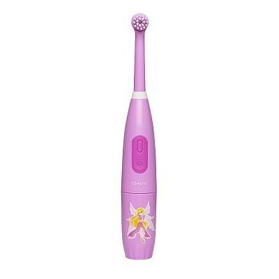 Электрическая звуковая зубная щетка CS Medica CS-563 Kids розовая (от 5 до 12 лет)