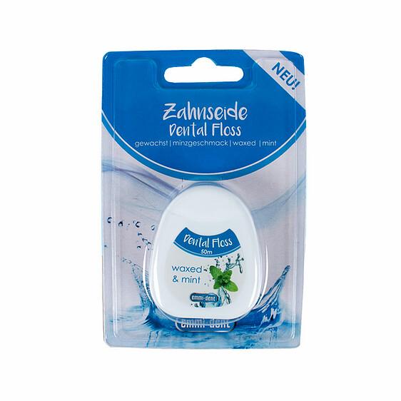 Вощеная зубная нить Emmi-dent Dental Floss