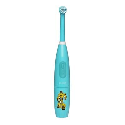 Электрическая звуковая зубная щетка CS Medica CS-463 Kids бирюзовая (от 5 до 12 лет)