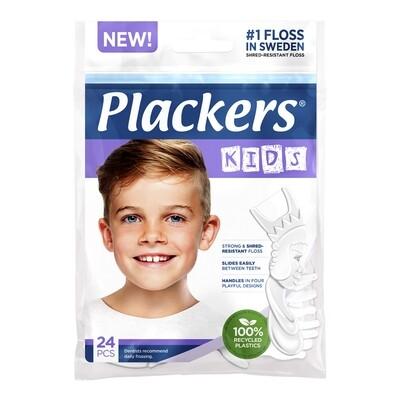 Флоссер Plackers Kids, 24 шт.