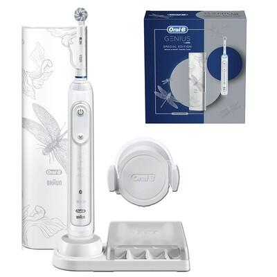 Электрическая Зубная Щетка Oral-B Genius 10000N Special Edition White D701.515.6XC