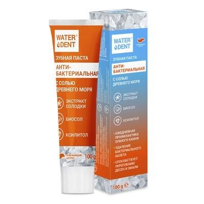 Зубная паста WATERDENT антибактериальная, 100 гр
