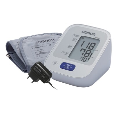 Тонометр Omron M2 Basic со стандартной манжетой и адаптером