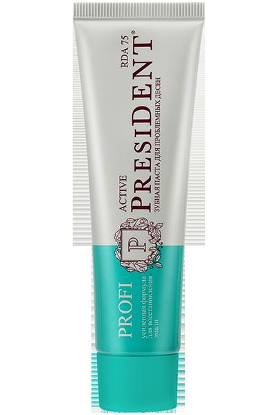 Зубная паста PRESIDENT PROFI Active, 50 мл