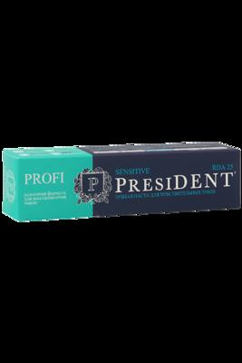 Зубная паста PresiDENT PROFI Sensitive, 50 мл