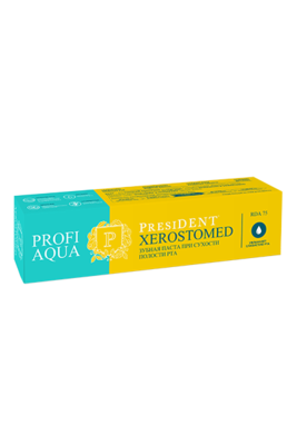 Зубная паста PresiDENT PROFI AQUA Xerostomed, 50 мл