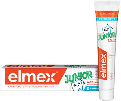 Зубная паста Elmex Junior, 75 мл (6-12 лет)