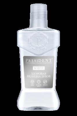 Ополаскиватель для полости рта PresiDENT White, 250 мл