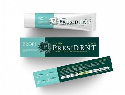 Зубная паста PresiDENT PROFI Classic, 50 мл
