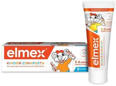 Зубная паста Elmex Kinder (с 2 до 6 лет), 50 мл