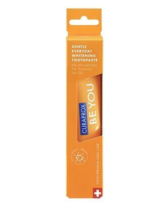 Зубная паста Curaprox Be You Orange со вкусом персика и абрикоса (Чистое счастье), 60 мл