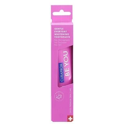 Зубная паста Curaprox Be You Pink со вкусом арбуза (Любитель конфет), 60 мл