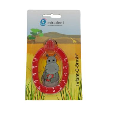 Щетка - прорезыватель Miradent (Docdont) красный