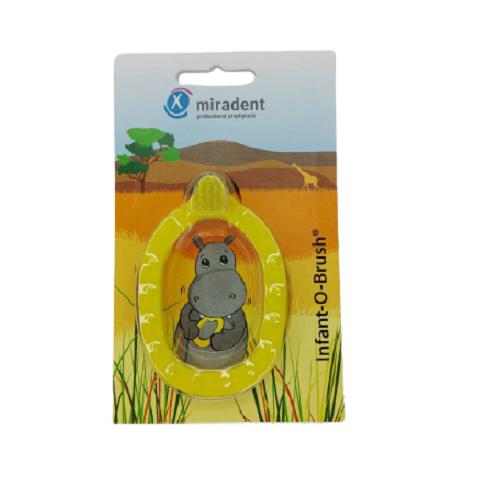 Щетка - прорезыватель Miradent (Docdont) желтый