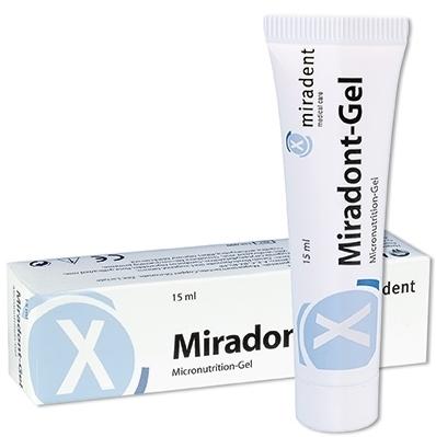 Гель с питательными микроэлементами Miradent Miradont Gel, 15 мл