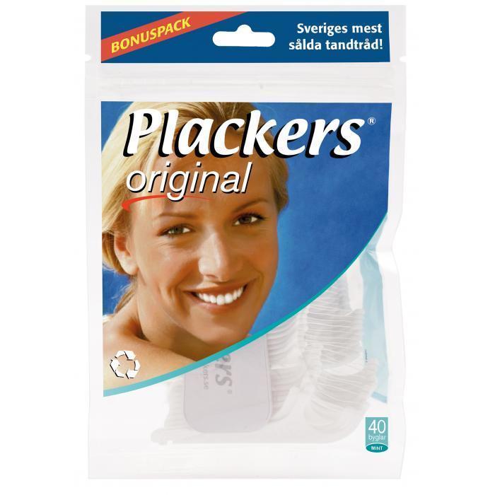 Флоссер Plackers Original, 40 шт.