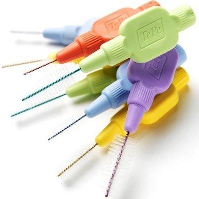 Межзубные ершики с держателями (6 шт.) TePe Extra Soft MIX blister