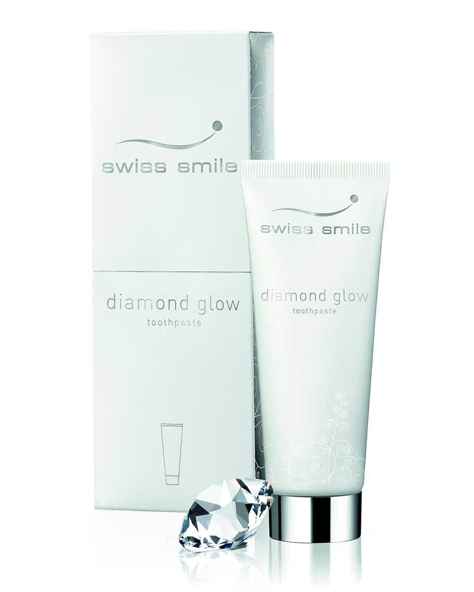 Отбеливающая зубная паста Swiss Smile Diamond Glow Brightening