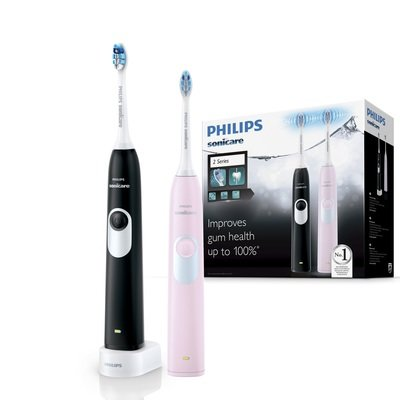 Набор из двух зубных щеток PHILIPS Sonicare 2 Series gum health HX6232/41