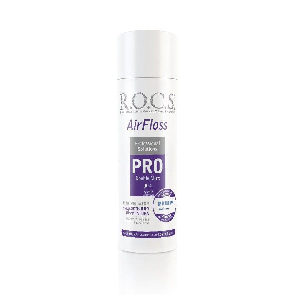 Жидкость для ирригатора ROCS PRO Двойная мята, 75 мл.