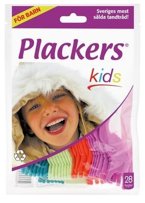 Флоссер Plackers Kids, 28 шт.