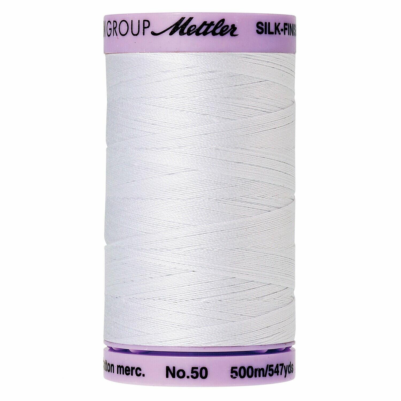 Silk Finish 50wt White 9104 2000 Mettler