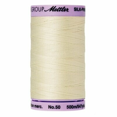 Silk Finish 50wt Antique White 9104 3612 Mettler